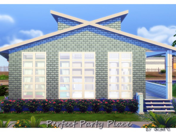 The Sims Resource: Perfect Party Place by Degera