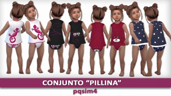 PQSims4: Pillina set