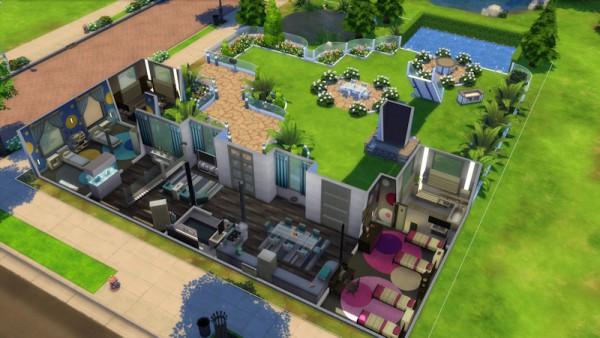 La Luna Rossa Sims: Oasis house