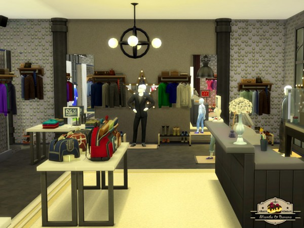 Mod The Sims: Red Hot Chili Boulevard   Mall (NO CC) by mamba black