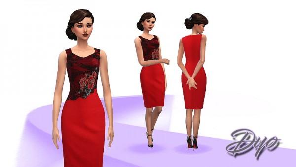 Les Sims 4: Elegance dress 8