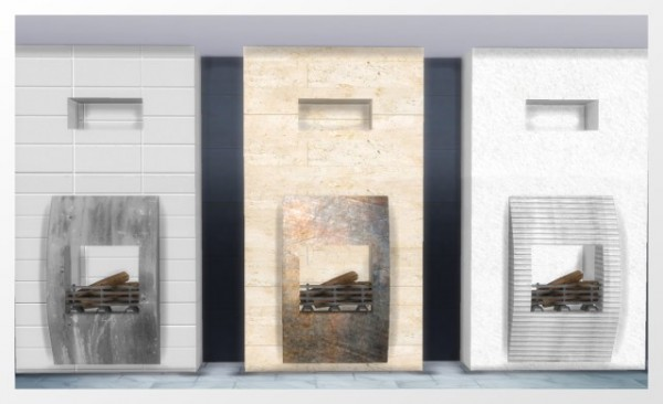 All4Sims: Fireplace by Oldbox