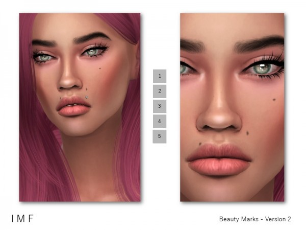 The Sims Resource: Beauty Marks   Version 2 by IzzieMcFire