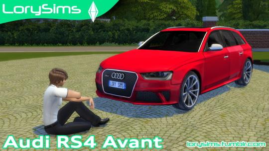 Lory Sims: Audi RS4 Avant