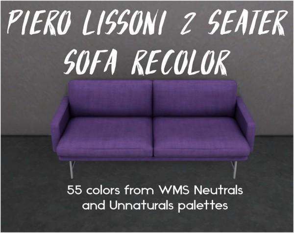 Simsworkshop: Piero Lissoni 2 Seater Sofa by Sympxls