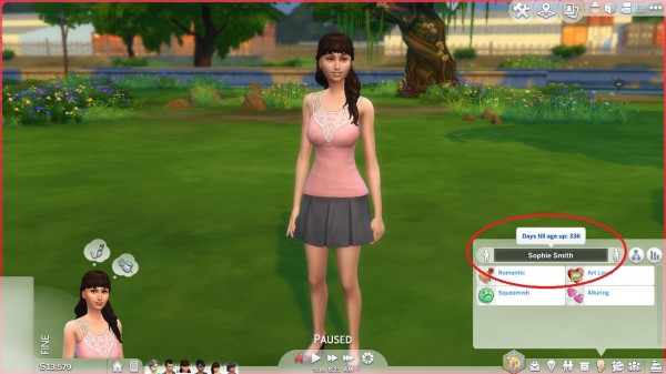 Mod The Sims: Realistic Aging by TheLittleThings