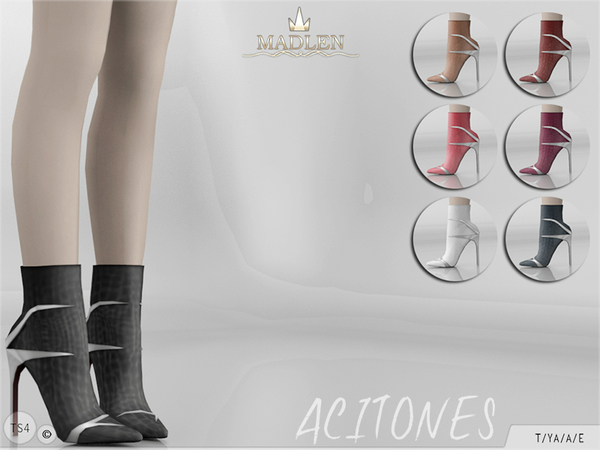 The Sims Resource: Madlen Acitones Boots by MJ95