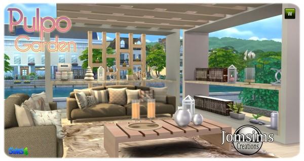 Jom Sims Creations: Pulpo Outdoor
