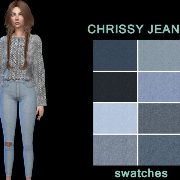 Leo 4 Sims: Chrissy Jeans