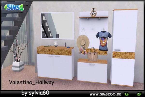 Blackys Sims 4 Zoo: Valentina Hall by Sylvia60