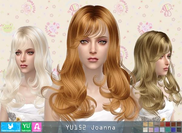 NewSea: YU152 Joanna donation hairstyle