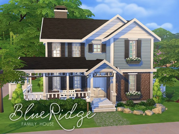 The Sims Resource Blue Ridge Family House By Smubuh