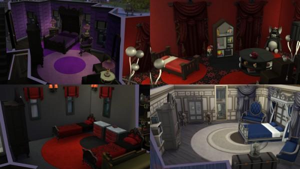 La Luna Rossa Sims: Turning Dark Vampires house