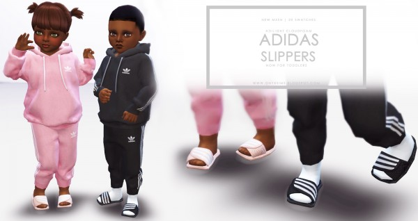 Onyx Sims: Slippers for Toddlers