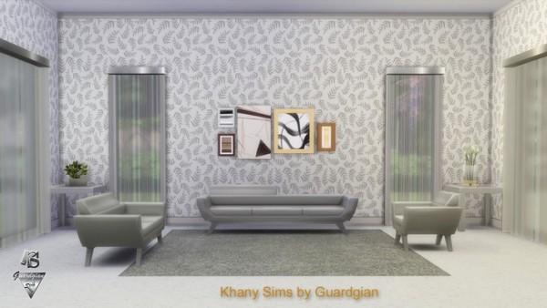 Khany Sims: Walls Palmettes