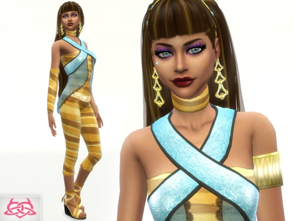 The Sims Resource: Cleo de Nile   Set by Colores Urbanos