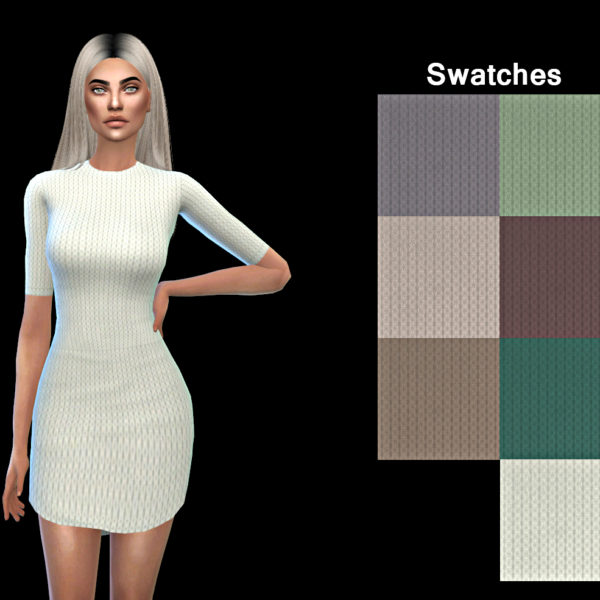 Leo 4 Sims Tight Dress Sims 4 Downloads