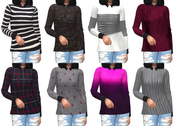 Kenzar Sims: Pyanka Sweaters