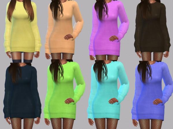 Teenageeaglerunner: Kourtney Sweater Dress Recolor