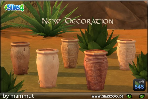 Blackys Sims 4 Zoo: Jar Minoan by mammut