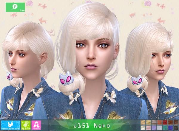 NewSea: J 151 Neko free hairstyle