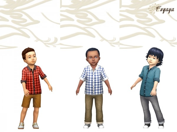 Sims Artists: Rolly shirt
