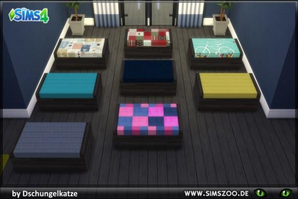 Blackys Sims 4 Zoo: DK Ottoman by Dschungelkatze