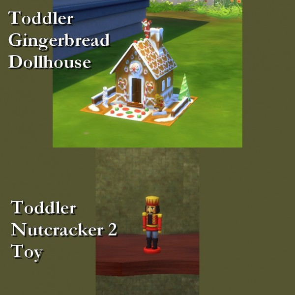 Mod The Sims: Woodworking Custom Toys 6   Toddlers by Leniad