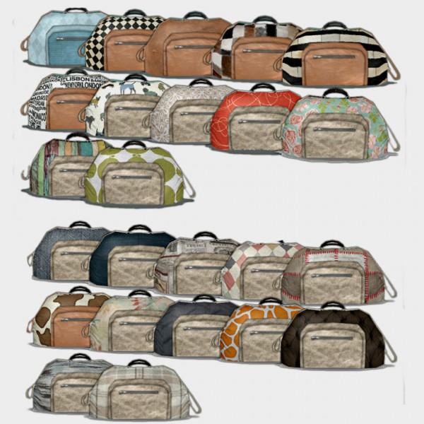 Leo 4 Sims: Sports Bag Deco