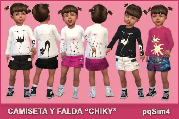PQSims4: Outfit Chiky
