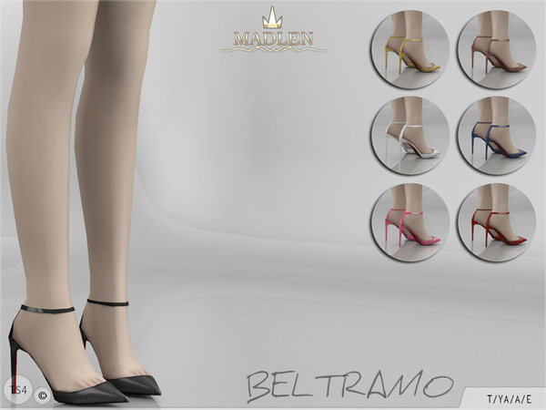 The Sims Resource: Madlen Beltramo Shoes by MJ95