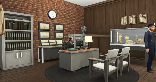 Simsational designs: Police Precinct 15