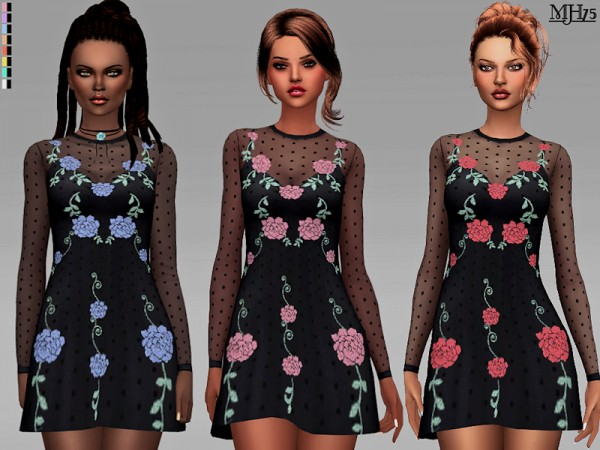 The Sims Resource: Zolando Dress by Margeh 75