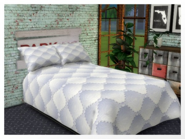 All4Sims: Pillow and headboard by Oldbox