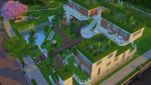 La Luna Rossa Sims: Green Roof