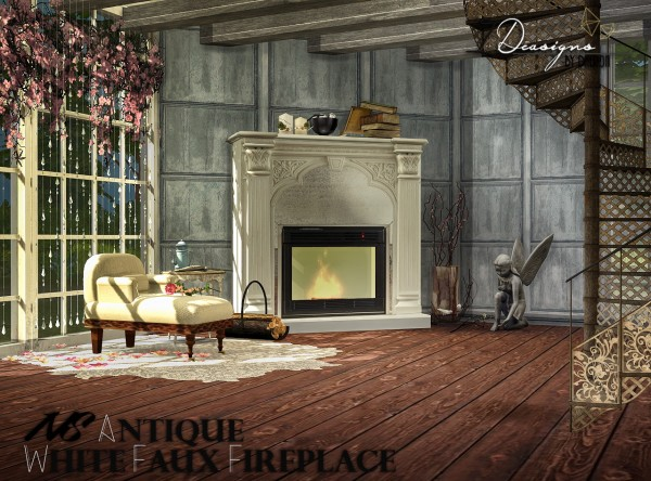 Fireplace archives • sims 4 downloads