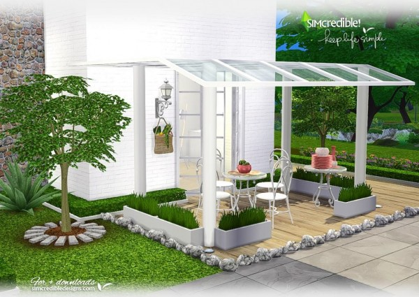 SIMcredible Designs: Keep Life Simple outdoor