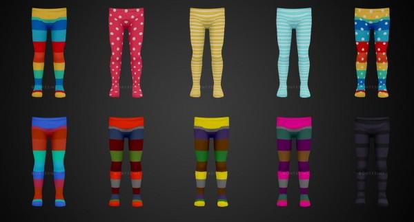 Onyx Sims: Frugi shirt and tights