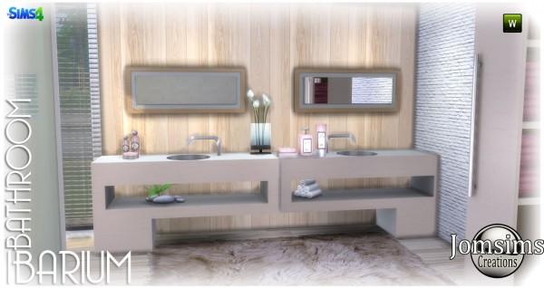 Jom Sims Creations: Ibarium bathroom