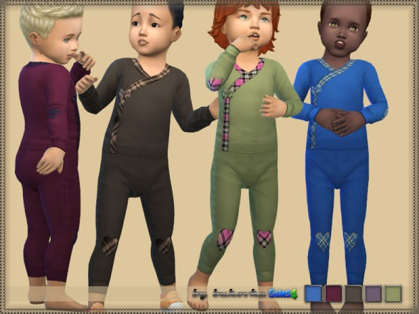 The Sims Resource: Jumpsuit Boy by bukovka