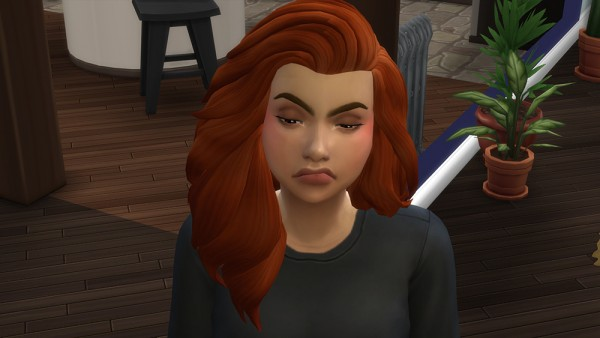 Mod The Sims: Social Anxiety Disorder   Trait by iridescentlaura