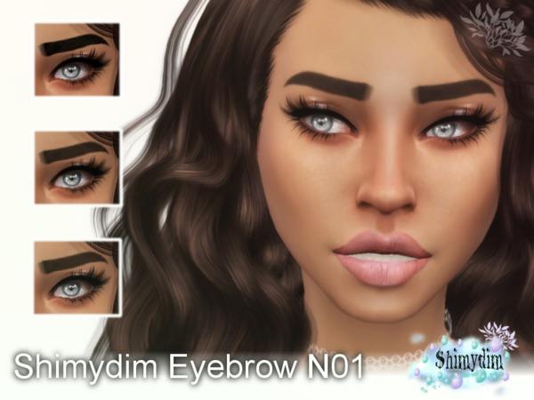 The Sims Resource: Eyebrow 01 by Shimydim