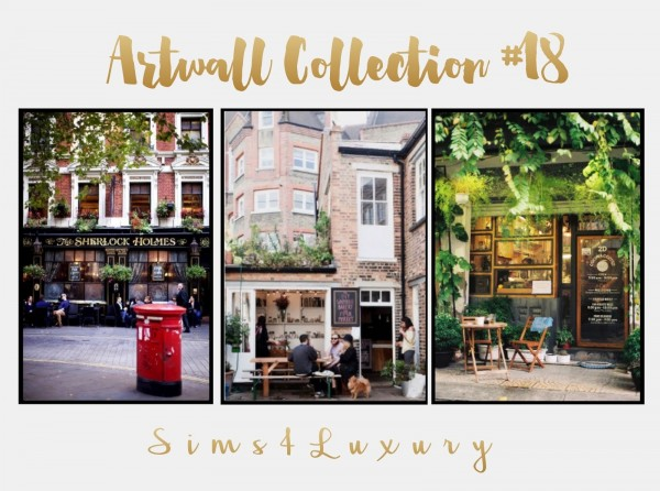 Sims4Luxury: Artwall Collection 18