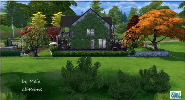 All4Sims: Our favorite home by melaschroeder