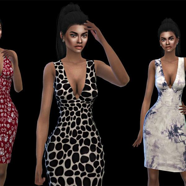 Leo 4 Sims: Kimberly Dress