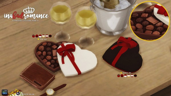 In a bad romance: Happy Valentine's: Chocolate gift boxes