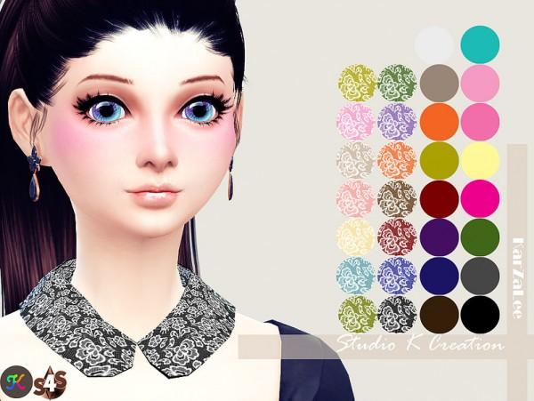Studio K Creation: Collar Necklace   round shape