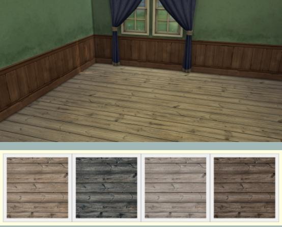 Chillis Sims: Wood floor 19