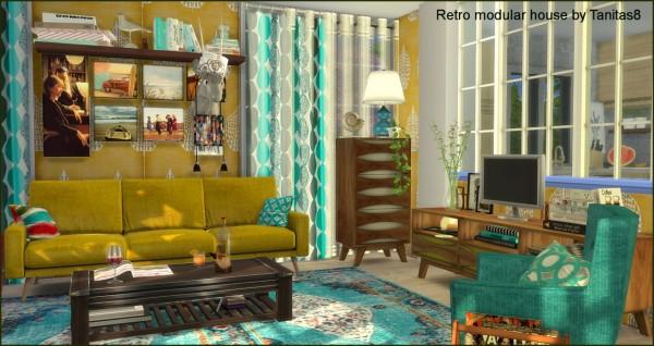 Tanitas Sims: Retro modular house