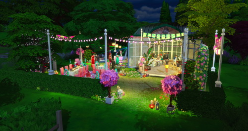 Chillis Sims: 100 Follower Gift Romantic Lounge